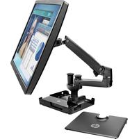 HP Hot Desk-standaard Laptop steun - Zwart