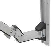 Ergotron Extension courte pour StyleView Combo assis-debout (aluminium) - Acier inoxydable