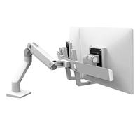 Ergotron HX Series Bras bi-écrans, fixation bureau (blanc) Support d'écran