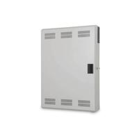 Digitus Wall mounting cabinet, slim, 900x600x200 mm 3U horizontal and 3U vertical, grey (RAL 7035)