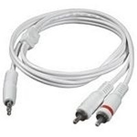 C2G 5m 3.5mm Male to 2 RCA-Type Male Audio Y-Cable - iPod - Wit