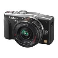Panasonic Lumix DMC-GF6X + G VARIO 14-42mm Digitale camera - Zwart