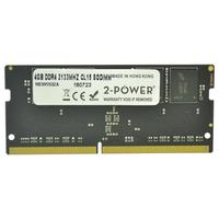 2-Power 4GB DDR4 2133MHz CL15 SODIMM Memory Mémoire RAM - Gris