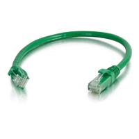 C2G Câble de raccordement réseau Cat6 avec gaine non blindé (UTP) de 0,5M - Vert Câble de réseau