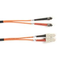 Black Box OM1 Câble de brassage à fibre optique duplex multimode 62,5/125 µm Connect, LSZH Câble de fibre .....