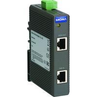 Moxa SPL-24 PoE Splitter Netwerk splitter - Zwart