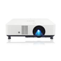 "Sony 6000 lm, 3LCD, 16:10, 40-300"", 37 dB, 100-240V, 50/60Hz, 440W, 422x338x129mm, 7kg Projecteur - Noir,Blanc"