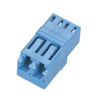 Black Box Coupleurs à fibre optique pour connexions multimodes Adaptateur de câble - Bleu