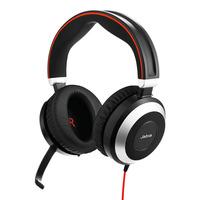 Jabra Evolve 80 Stereo MS USB-C Headset - Zwart
