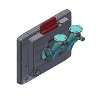 Advantech RAM-Mount Set, two arms, arm length 150mm Supports - Noir