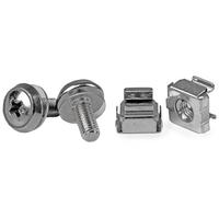 StarTech.com Paquet de 50 vis de montage et écrous cage M5 pour armoire serveur Accessoire de racks - .....