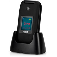 Fysic FM-9260 Big Button Klap GSM incl. Cradle Black Diverse hardware