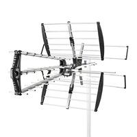 Nedis ABS/Aluminium, 75Ohm, 14dB, 1114mm, Reception range:≥50km Antenne - Noir, argent