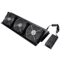 APC NetShelter CX Fan Booster Kit Accessoire de racks - Noir