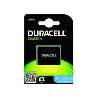 Duracell Digital Camera Battery 3.7v 950mAh replaces Panasonic CGA-S007 Battery - Noir