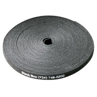 "Black Box Hook and Loop Bundle Wrap, 5/8"" (1.5-cm) Wide, Black, 15-ft. (4.5-m) Kabelbinder - Zwart"
