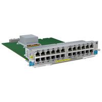 Hewlett Packard Enterprise HP 24-port 10/100 PoE+ v2 zl Module Netwerkswitch module