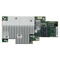 Intel Tri-mode PCIe/SAS/SATA Full-Featured RAID Mezzanine Module, 8 internal ports RAID-controller
