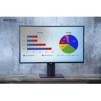 """KAPSOLO 2H Antimicrobial Screen Protection for 54,6cm (21,5"""") Wide 16:9 Monitor/TV accessoire - Transparant"""