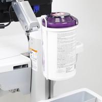 Ergotron Support pour lingettes sanitaires Accessoires panier multimédia - Blanc