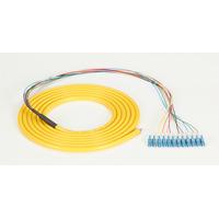 Black Box Pigtail fibre optique monomode OS2, jaune Câble de fibre optique - Multicolore,Jaune