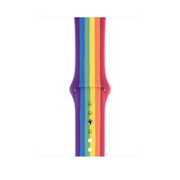 Apple Bracelet Sport Pride Edition 44 mm - Regular - Multicolore