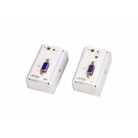 Aten VGA/Audio Cat 5-verlenger met MK-muurplaat (1280 x 1024 bij 150 m) AV extenders - Wit