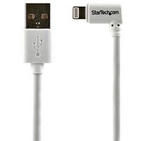 StarTech.com Haakse Lightning naar USB kabel 2m wit