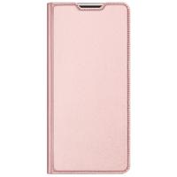 Slim Softcase Booktype Samsung Galaxy A12 - Rosé Goud - Rosé Goud / Rosé Gold