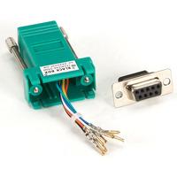Black Box Adaptateur de couleur DB9 à RJ-45 (non monté) Adaptateur de câble - Vert