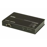 ATEN Système d'extension KVM USB HDMI HDBaseT 2.0 (unité distante) (4K à 100 m) - Noir