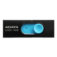 ADATA UV220 USB-stick - Zwart, Blauw