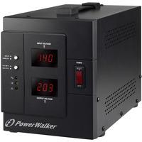 PowerWalker AVR 3000 SIV FR Régulateur de tension - Noir