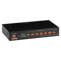 Black Box Industrial-Grade USB Hub Interface hub - Zwart