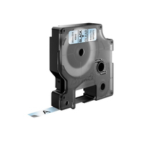 DYMO D1 -Standard Labels - Black on Transparent - 9mm x 7m Labelprinter tape