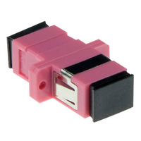 ACT EA1025 Adaptateurs de fibres optiques - Rose