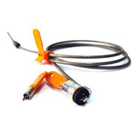 DELL Security cable lock, Orange/Silver Verrous de câble - Orange,Argent