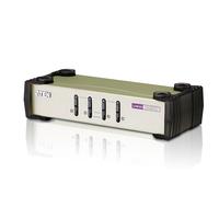 Aten VGA PS/2 USB 4 ports Commutateur KVM - Noir,Gris