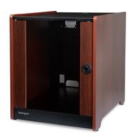 StarTech.com 12U rack serverkast 20.6 inch diep houten afwerking zwenkwielen plat verpakt Stellingen/racks .....