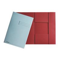Esselte Farde à 3 rabats manille Fichier - Rouge