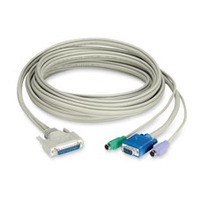 Black Box Coax CPU Cable with DDC Support for ServSwitch CAT5 KVM Extenders KVM kabel