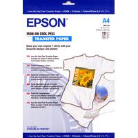 Epson Iron-on-Transfer Paper - A4 - 10 Feuilles Transfert T-shirt