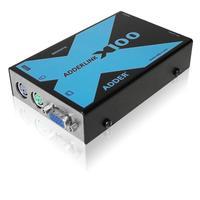 ADDER Link X100 Console à rallonger - Noir