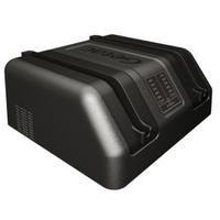 Getac External Dual Bay Main Battery Charger, EU Chargeur de batterie - Gris