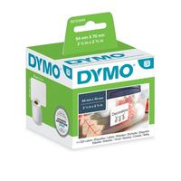 DYMO LW - Universele labels - 54 x 70 mm - S0722440 Etiket - Wit