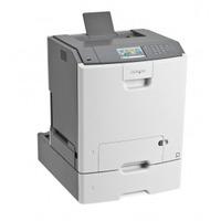 Lexmark C748dte Laserprinter - Zwart,Cyaan,Magenta,Geel