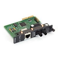 Black Box High-Density Media Converter System II Layer 1 Module, 100BASE-TX to 100BASE-LX, Single-Mode Plus, .....