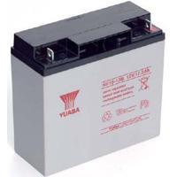 Yuasa 17.2Ah, 12V, Sealed Lead Acid, 6.1kg, White/Black UPS batterij - Zwart, Wit