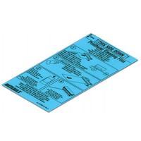 """Datamax O'Neil Cleaning Film-6"""" for Datamax-Oneil Nova DT / TT, 12 pcs Printer reininging"""