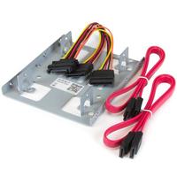 StarTech.com Dubbele 2,5 inch naar 3,5 inch HDD-steun voor SATA harde schijven 2,5 inch naar 3,5 inch steun .....